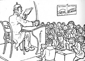 Карикатура из 1910/1911.