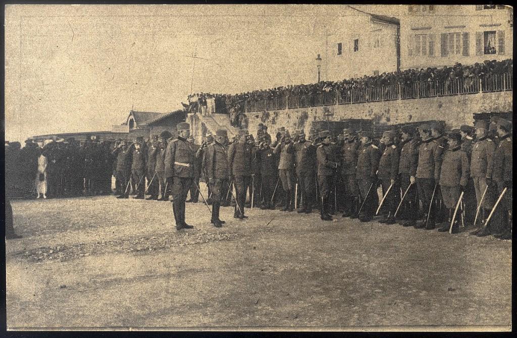 19. dolazak regenta Aleksandra na Krf posle Albanije 1916