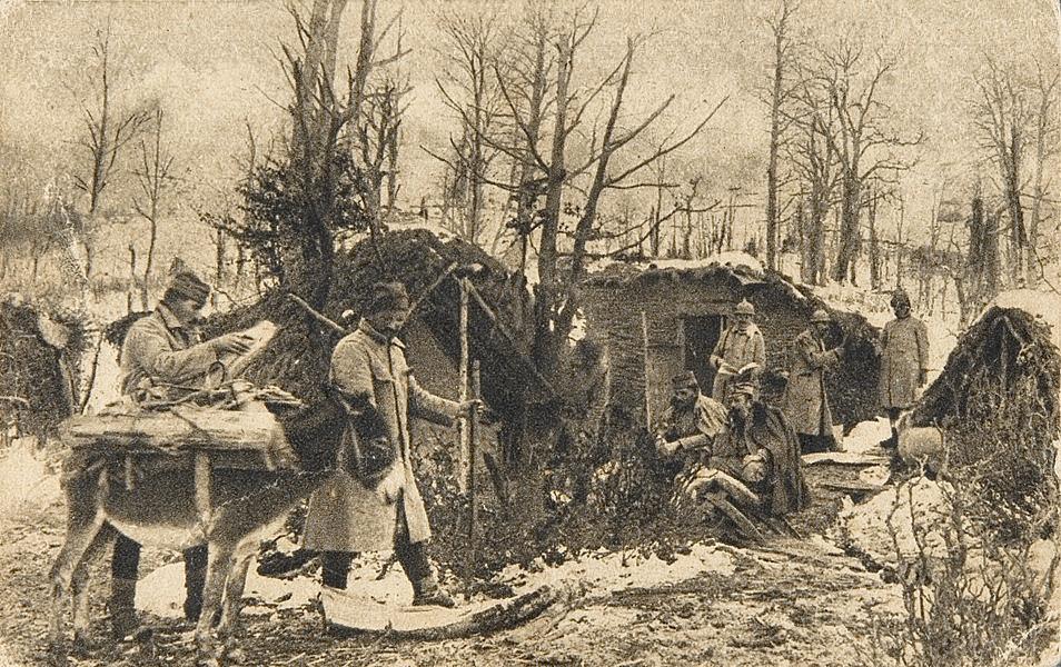 25.. bivak srpske vojske ispod kajmakcalana
