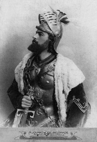 Milos_Obilic_u_tumacenju_Milorada_Petrovica_(1865-1928) foto-M. Jovanović
