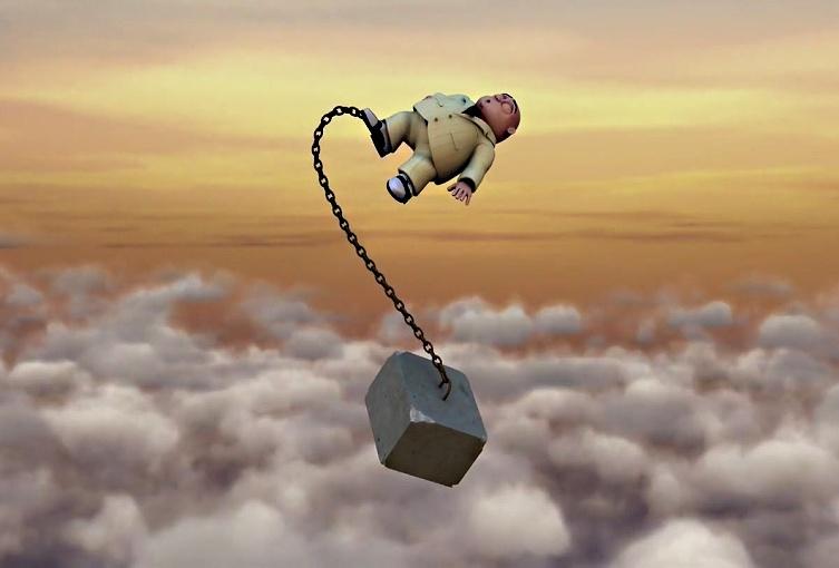 У слободном паду