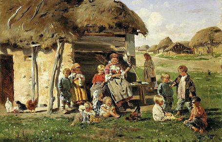 kрестьянские-дети1890-маковскии-константин1