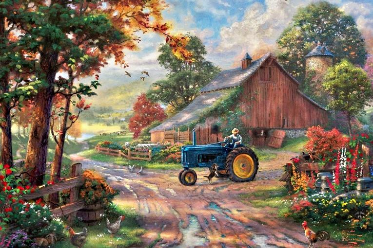 Шта се сипа у трактор?