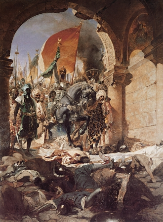 benjamin-constant-the_entry_of_mahomet_ii_into_constantinople-