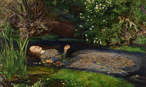 Ophelia 1851-2 Sir John Everett Millais, Bt 1829-1896 Presented by Sir Henry Tate 1894 http://www.tate.org.uk/art/work/N01506