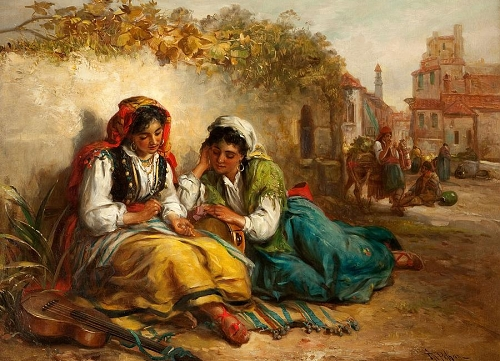 the-gypsies-thomas-kent-pelham