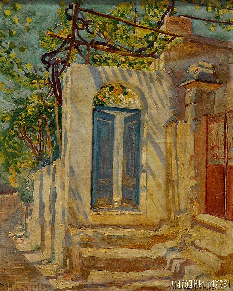 6. plava vrata