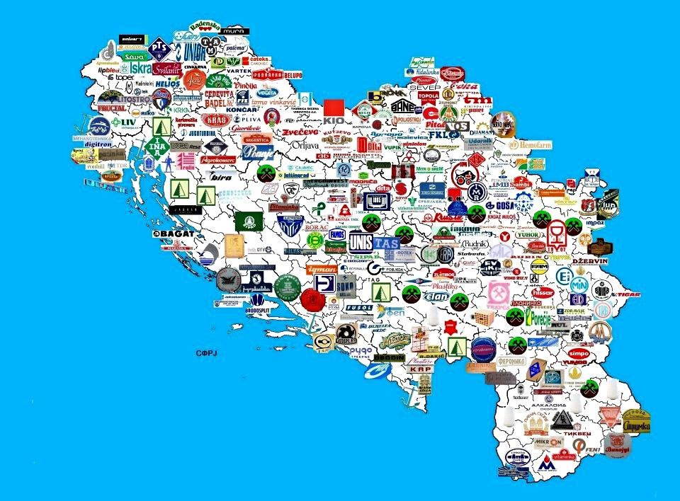 Jugoslavija - proizvodnja
